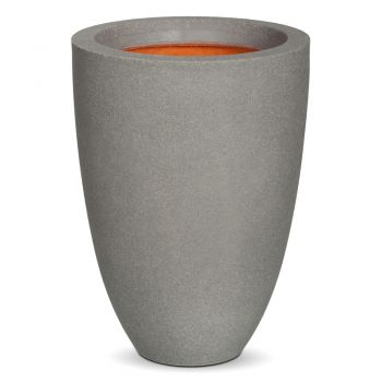 Capi Tutch Low Vase Planter H36cm x Dia26cm - Grey