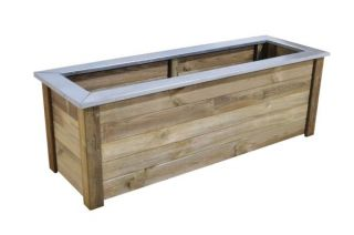 Wooden Cambridge Planter 212L - 150 x 50