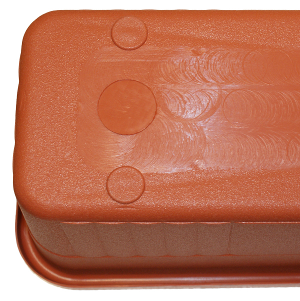 "Ornamental Trough Planter in Terracotta - W78cm (30¾"")"