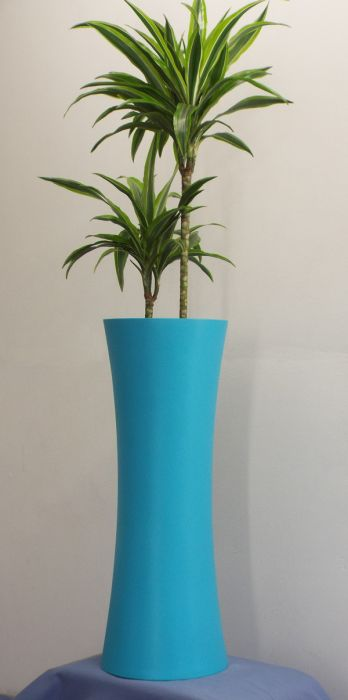 The New Fibreglass 'Salt' Tall Planter 79cm