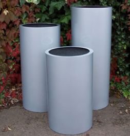 The Fibreglass Cylinder 'Pillar' Range - (Small) 60cm Tall