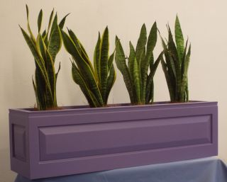 The Panel Fibreglass Planter Troughs / Window Boxes - (Medium) 22.5cm Tall