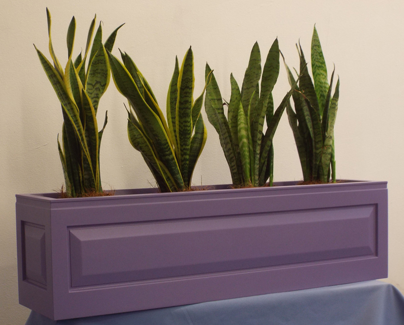 The Panel Fibreglass Planter Troughs / Window Boxes - (Large) 30cm