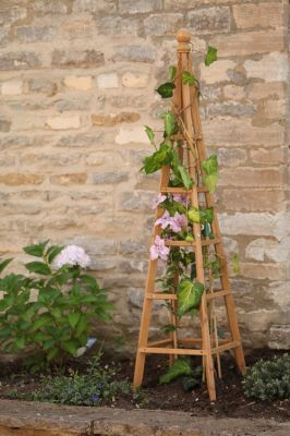 Smart Garden Tan Wooden Obelisk - 1.2m