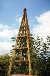 Smart Garden Tan Wooden Obelisk - 1.9m