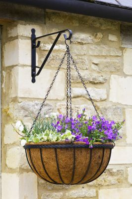 35cm Smart Garden Hanging Basket Planters - Set of Two