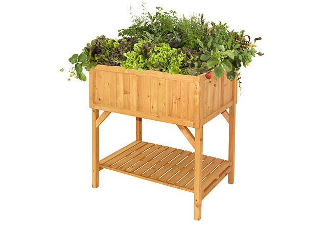 Wooden Raised Planter 78cm x 58cm (H80cm)