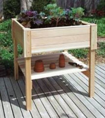 Raised Planter Table - 63.5cm² (H91cm)