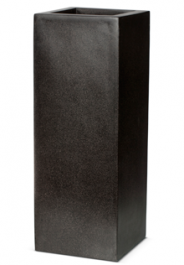 67cm Poly Resin Rectangular Planter in Black