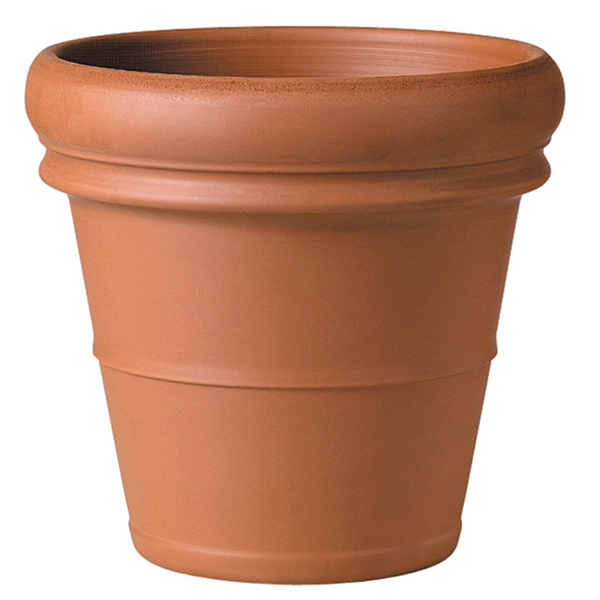 44cm Terracotta Verona Rolled Rim Planter