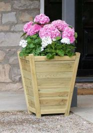 65cm (24in) Eaton Wooden Planter FSC® by Zest 4 Leisure®