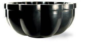 100cm Large Black Citadel Planter