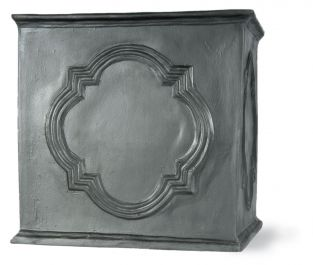 78cm Hampton Tank Planter in Faux Lead