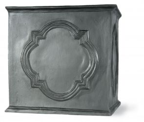 91cm Hampton Tank Planter in Faux Lead
