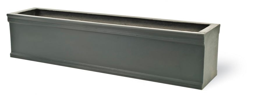 97cm Chelsea Window Box in Faux Lead