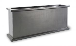 120cm Grosvenor Trough Planter in Faux Antique Lead