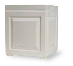 61cm Sloane Planter in White