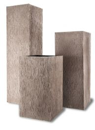 50cm Fibreglass Beton Square Planter