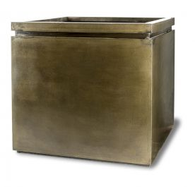 75cm Fibreglass Large Pall Mall Square Planter