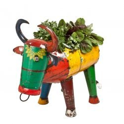 H80cm Bruce The Bull Planter