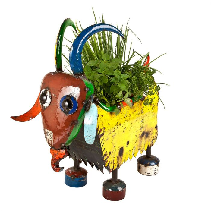 H60cm Billy The Goat Planter