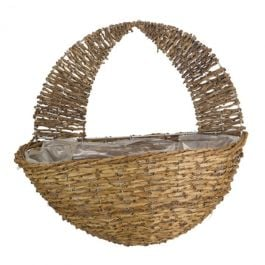 Smart Garden Country Rattan Wall Planter Basket - 40cm (16