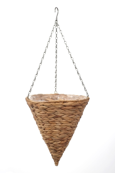 "Smart Garden Hyacinth Hanging Cone Natural Planter - 30cm (12"")"