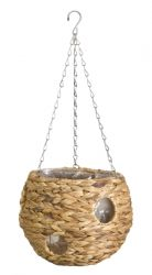 22cm Hyacinth Hanging Ball Planter - by Smart Garden