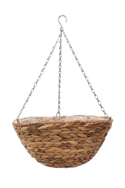 "Smart Garden Hyacinth Hanging Basket Natural Planter - 36cm (14"")"