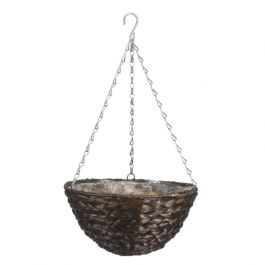 Smart Garden Hyacinth Hanging Basket Dark Planter - 36cm (14