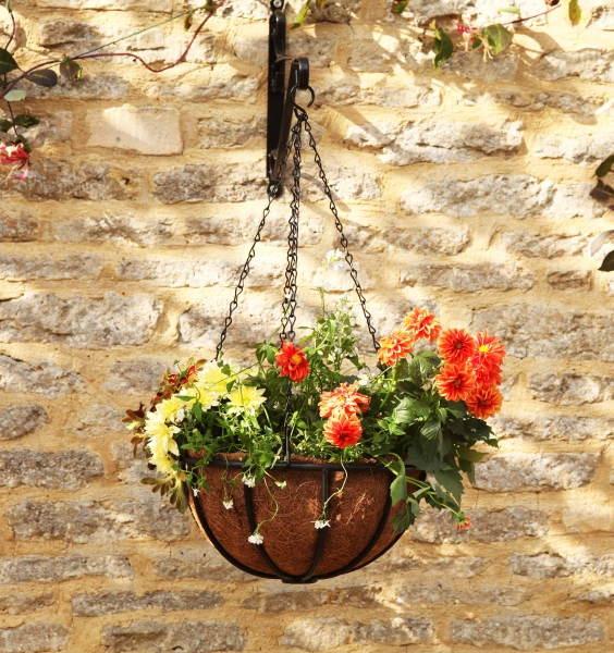 "Smart Garden Forge Hanging Basket Planter - 36cm (14"")"
