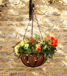 40cm Hanging Basket Forge Planter - by Smart Garden