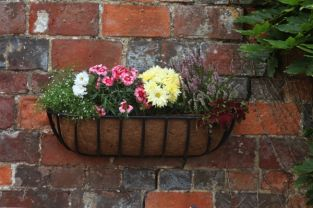 "Smart Garden Forge Wall Trough Planter - 60cm (24"")"
