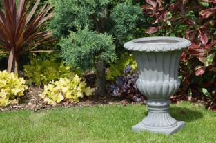 62cm Stathern Urn in Ancient Stone