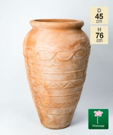 H76cm Terracotta Tall Vase Planter