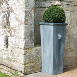 Zinc Planters: 210+ from £7.99 on zinc planter boackround on white, zinc garden statues, zinc bowls, zinc furniture, zinc window boxes,