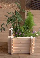 69cm Buildround Square Planter