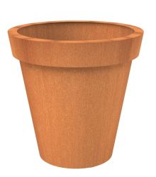 150cm Celso Corten Steel pot By Adezz