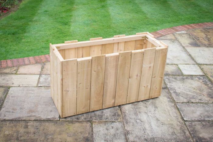 114cm Wooden Long Windsor Planter