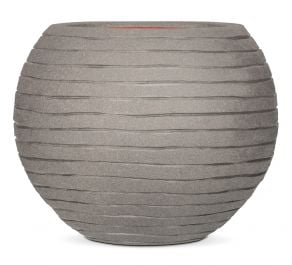 40cm Capi Nature Row NL Vase Ball Planter in Grey