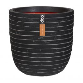 43cm Capi Nature Row NL Egg Planter in Anthracite