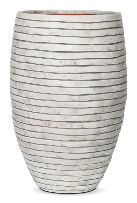 84cm Capi Nature Row NL Elegant Deluxe Vase Planter in Ivory