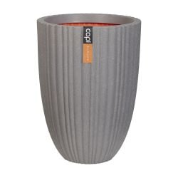 73cm Capi Urban NL Vase Elegant Low Tube Planter in Grey