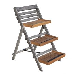 H80.5cm Alderley Plant Small Ladder by Rowlinson®
