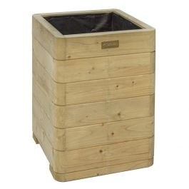 57cm Marberry Tall Hardwood Planter FSC™ by Rowlinson®