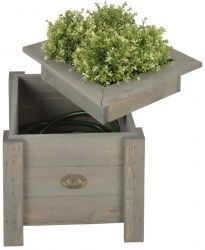38cm Timber Hose Hiding Planter