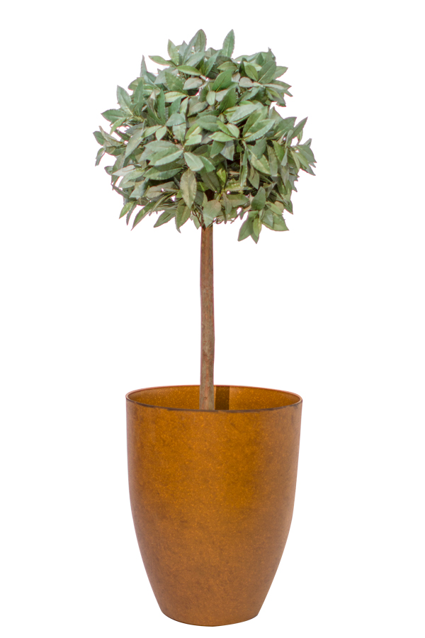 53cm Aged Rust Cone Planter By Primrose 163 17 99