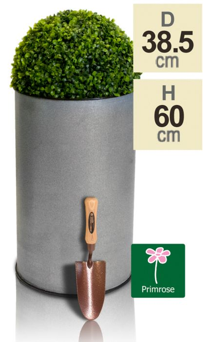 Sunbury Vintage Metal Planter - H60cm by Primrose®