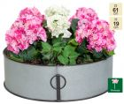 61cm Walton Vintage Zinc Low Planter by Primrose™