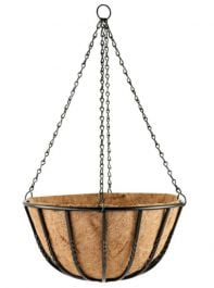 35cm Blacksmith Hanging Basket